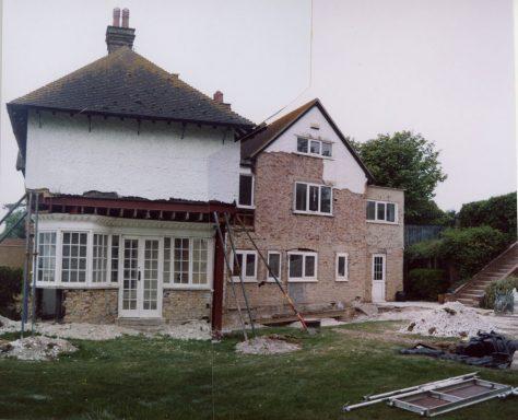 Corner Cottage East Granville Road, garden room and Studio Flat. 14 May 2009