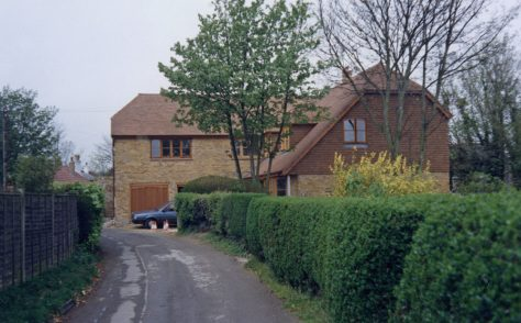 The Barn (which replaced old Jenner's Garage), Chapel Lane. 1987