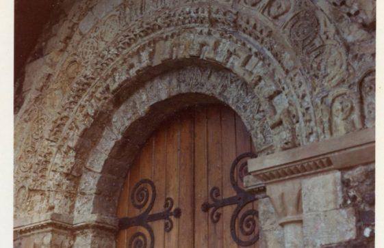 St Margaret's Church West doorway. 1986