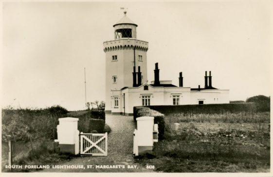 South Foreland Lighthouse from the entrance gate