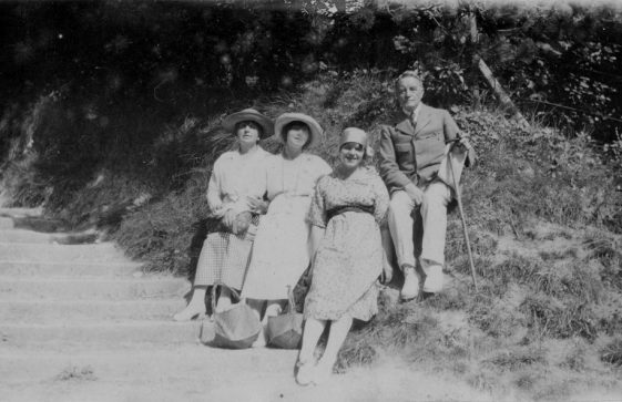 Denoon family and friends on the Long Steps. 1916 to 1969