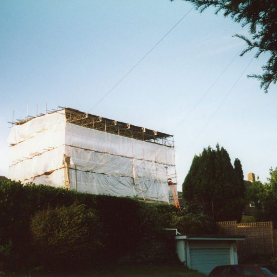'The Leazes', Salisbury Road. A bungalow conversion to a two storey house. 2004