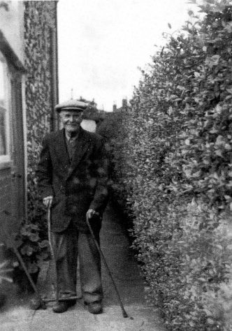 Thomas William Knott at Seaview Cottages, Chapel Lane