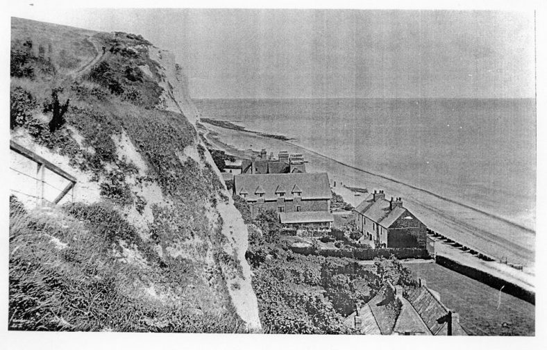 Bay Hotel from the Zig Zag Steps. 1895
