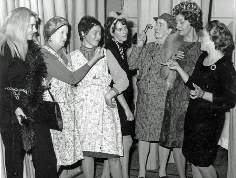 WI production 'Mad Hatters of Mayfair' 1972