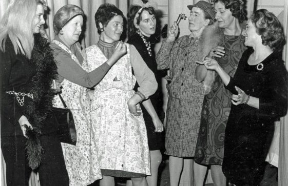 Women's Institute (WI)  production 'Mad Hatters of Mayfair' 1972