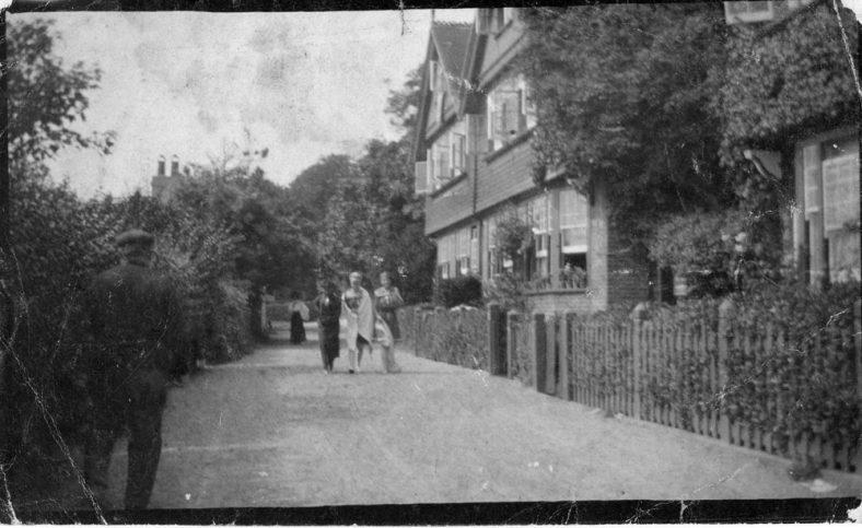 Adcock's Villas, St Margaret's Bay. c1906