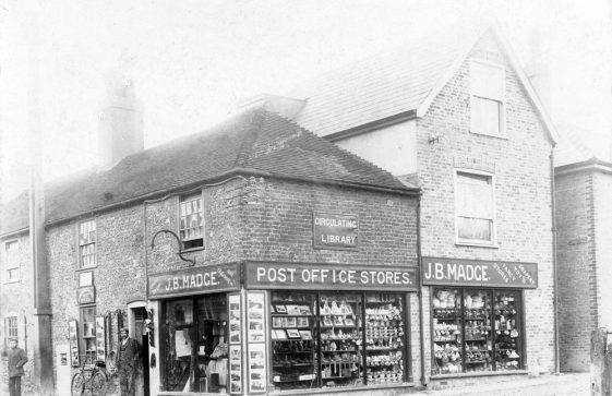 High Street, Madge's Stores. c.1900