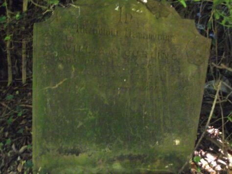 Gravestone of CURLING William 1893