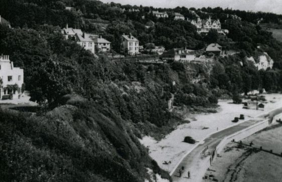 St Margaret's Bay from Ness Point. post 1950