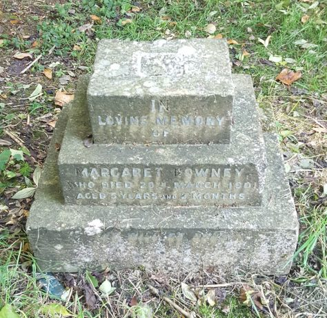 Gravestone of DOWNEY Margaret 1901