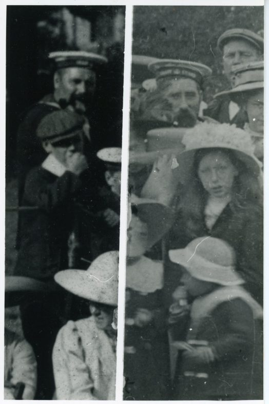 Coastguards at St Margaret's Sports Day. c1910