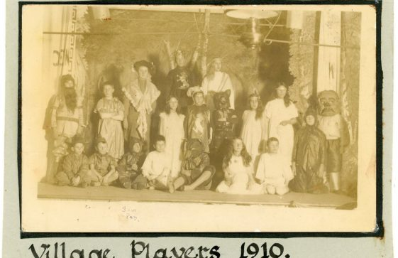 The 'Village Players' in 1910