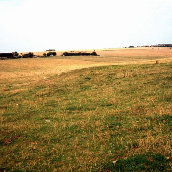 Site of Cross Channel Gun 'Winnie' at Westcliffe. 20 May 1990