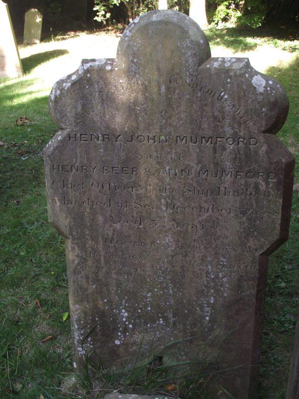 Gravestone of MUMFORD Henry John 1868 | Dawn Sedgwick