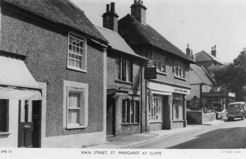High Street, St Margaret's-at-Cliffe. c1955