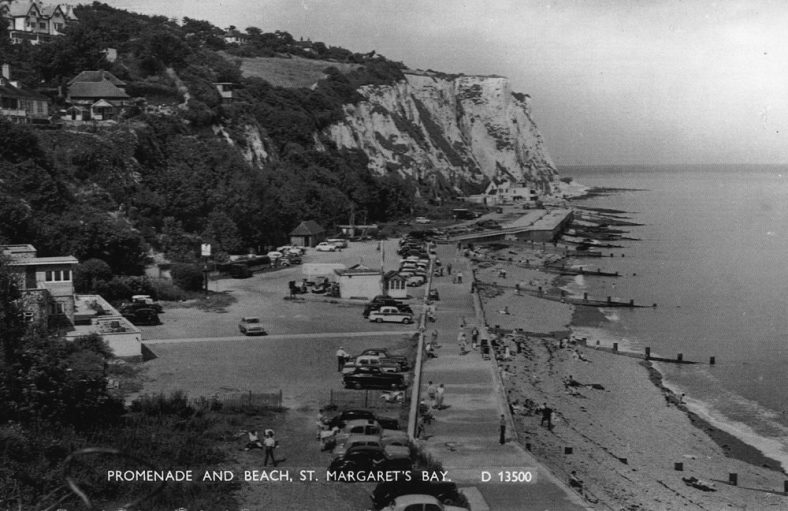 A view NE across the Bay. mid 20th c