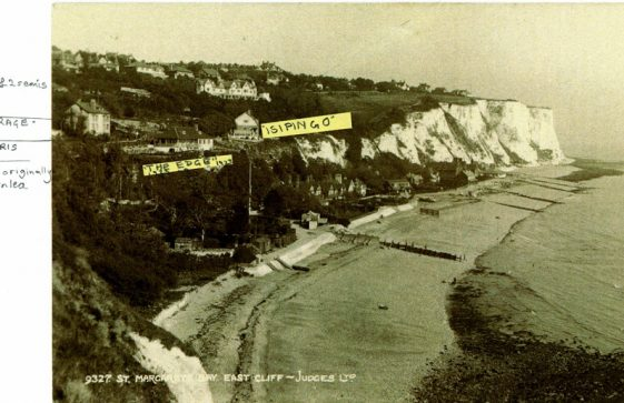 St Margaret's Bay from Ness Point. c1921