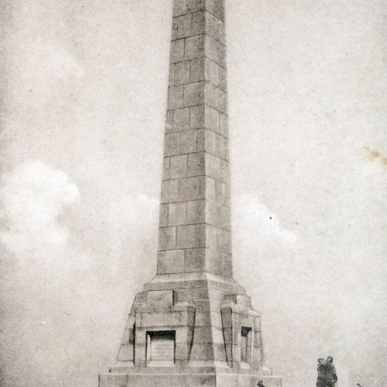 Prince of Wales unveils the Dover Patrol Memorial. 1921