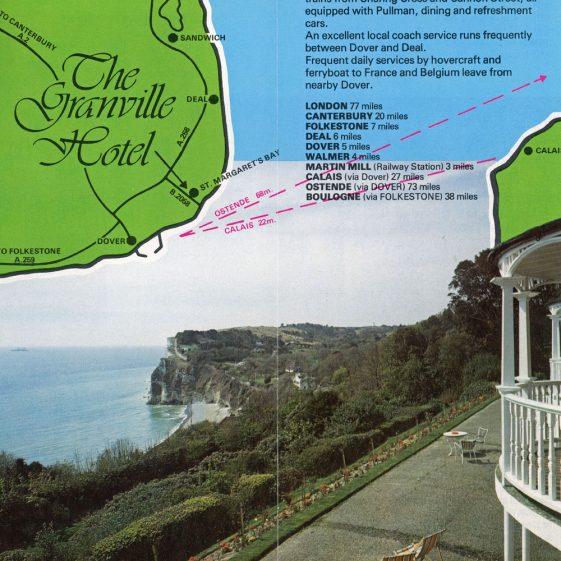 Granville Hotel, Hotel Road: Colour leaflet. c1980