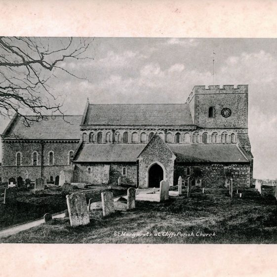 'Notes on the Church of St Margaret's at Cliffe' by the Rev G M Livett. 1899
