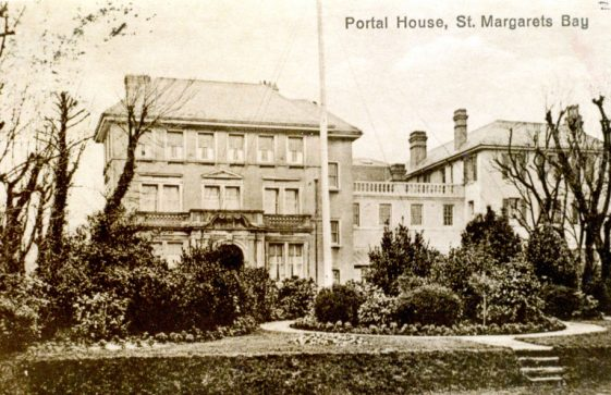 Portal House and gardens