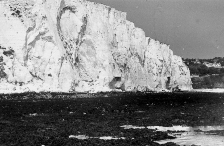 Ness Point at low tide. c1946/7