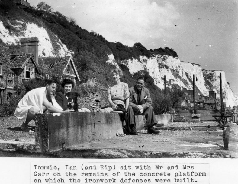 Beach defences. C1948
