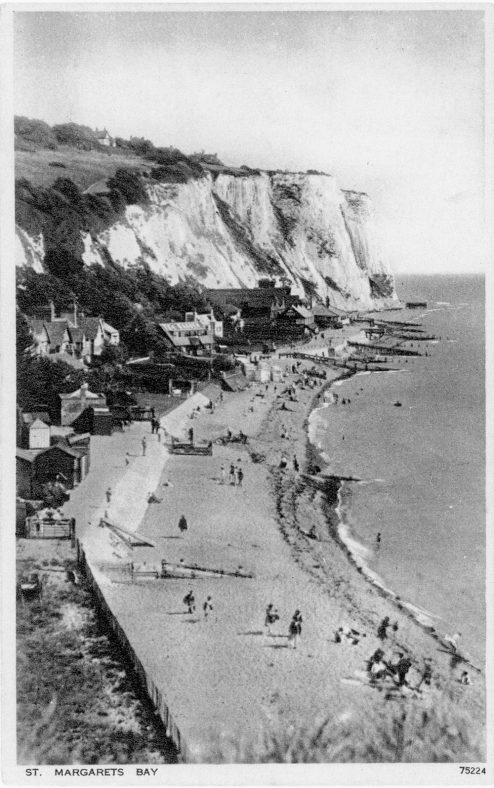 St Margaret's Bay from Ness Point. pre 1933