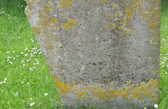 Gravestone of HAMMOND Jane 1791; HAMMOND Jane 1800; HAMMOND Francis 1815; HAMMOND Sarah 1842; HAMMOND Francis 1842