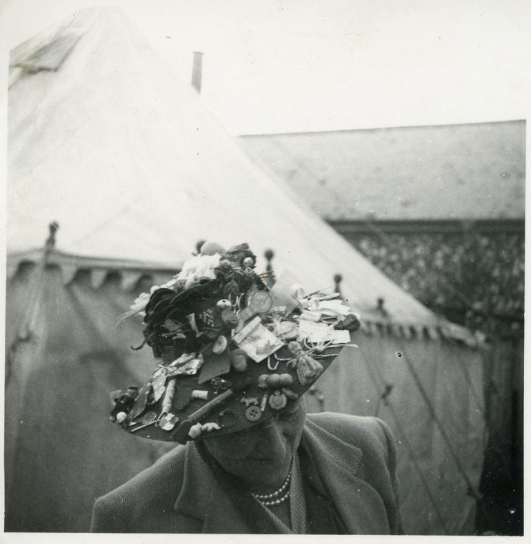 Woman in Hat from St Margaret's Players Album