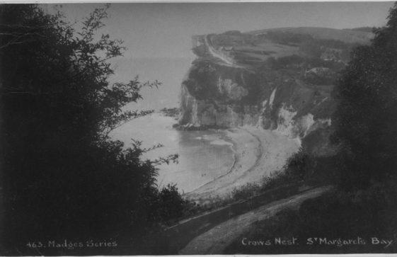 Crow's Nest, St Margaret's Bay. postmarked 1933