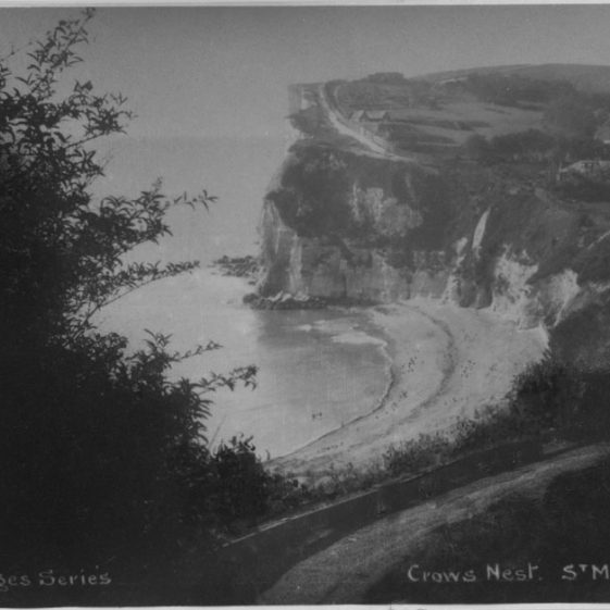 Crow's Nest, St Margaret's Bay. postmarked 1933