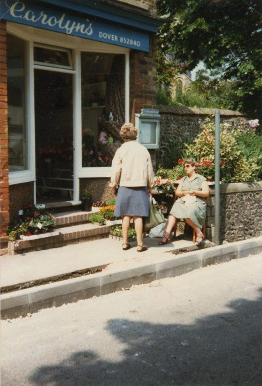 Carolyn's Flower Shop, High Street. 1986