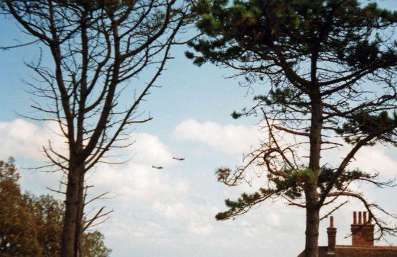 Spitfires off St Margaret's Bay. September 15th 1990