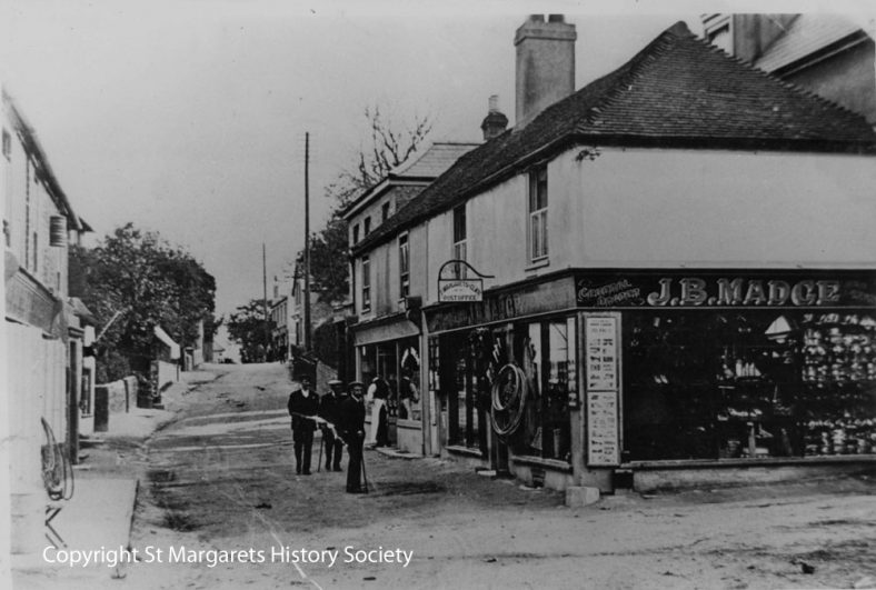 High Street and Madge's Stores c1906