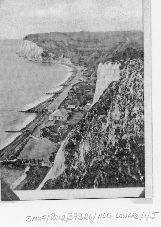 St Margaret's Bay from Ness Point. 1921; St Margaret's Bay from The Leas. 1936