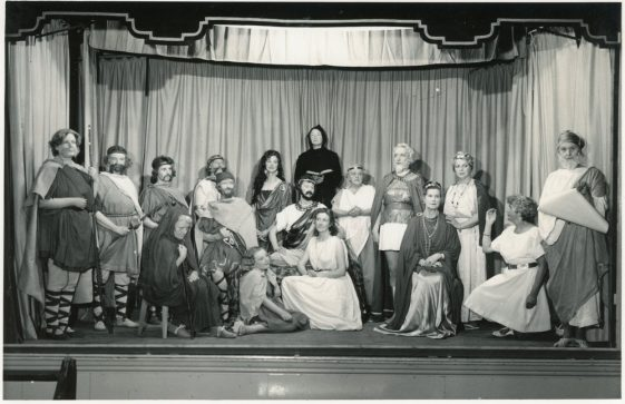 St Margaret's Woman's Institute cast of 'St. Margaret of Antioch' 1960