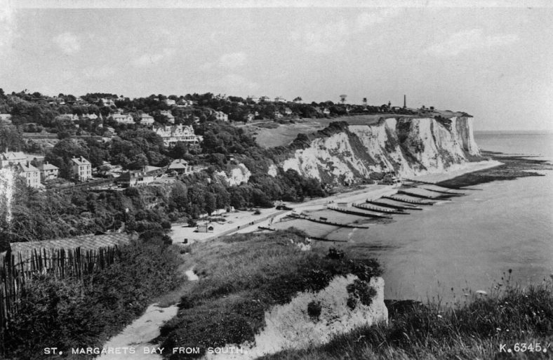 St Margaret's Bay from Ness Point. late 1950s
