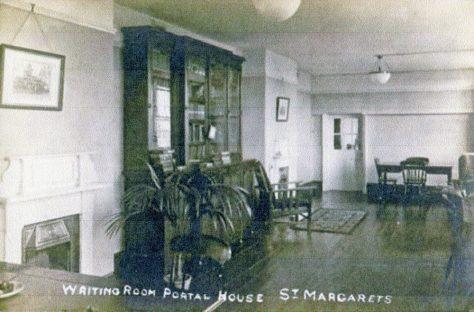 Portal House Writing Room c1920