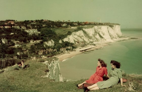 A photograph of the Bay taken from Ness Point by the National Geographic Magazine in 1948
