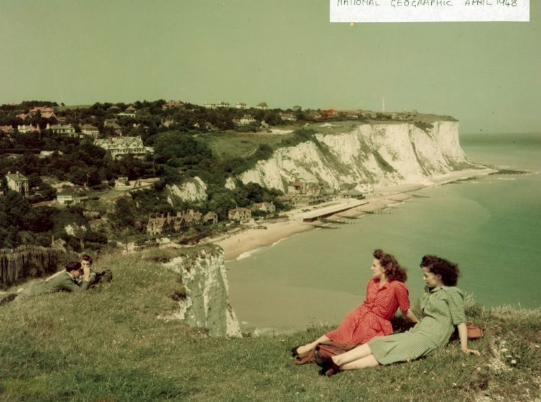 St Margaret's Bay from Ness Point. 1948