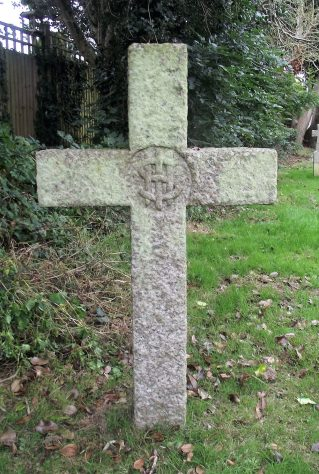Gravestone of CRITTALL  Eleanor Godfrey  1934