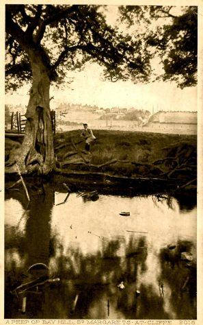 'A Peep of Bay Hill'.  early 20th century