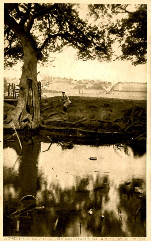 Bay Hill from Reach Road pond. 20th century