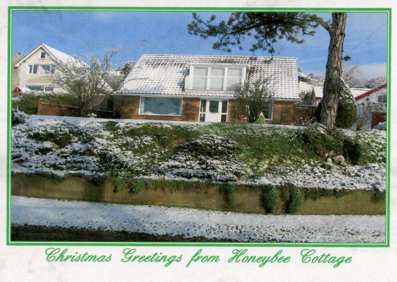 'Honeybee Cottage', Granville Road, in Winter