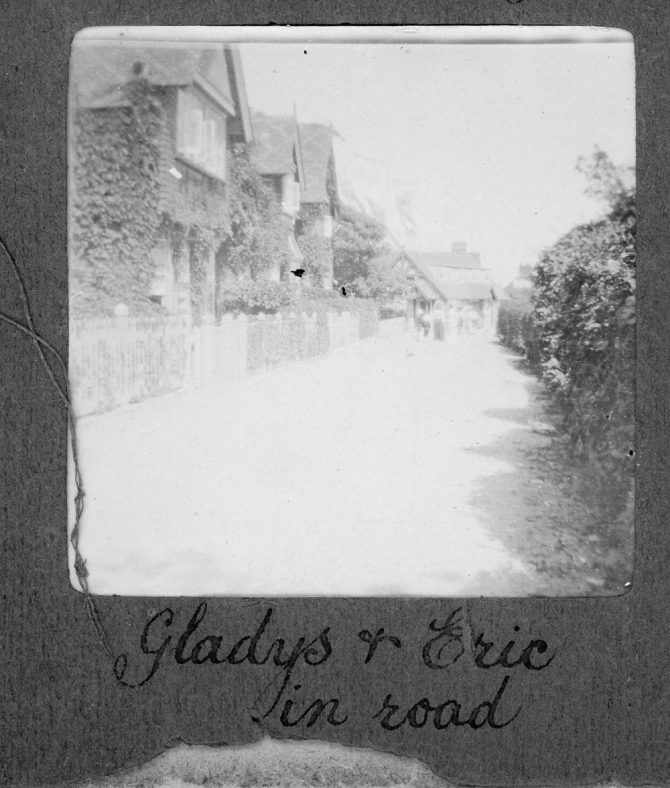 Adcock's Villas, St Margaret's Bay. 1906