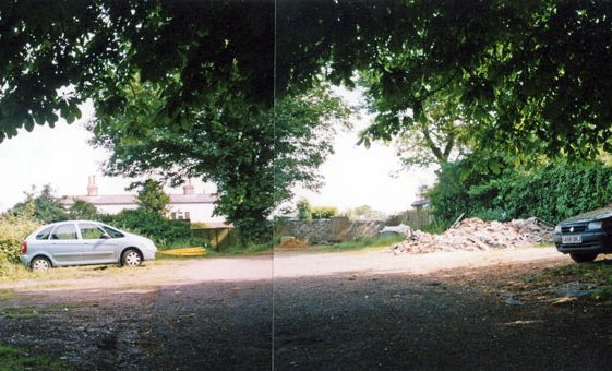 Land at the rear of Cliffe Hotel used as a car park.  15 June 2006.