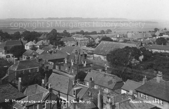 From St Margaret's church tower looking NW. early 20th century