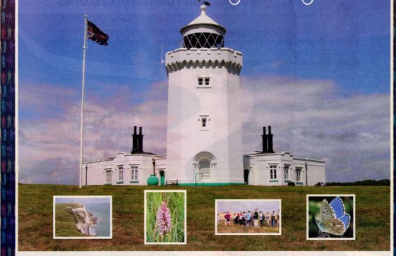 Advertisement encouraging visits to the South Foreland Lighthouse